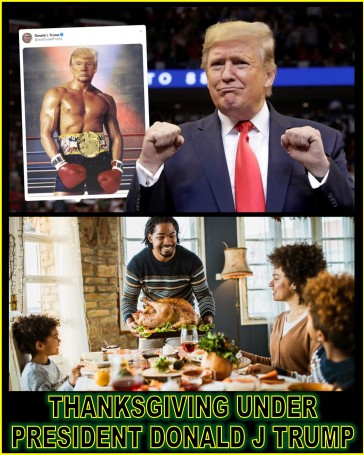 THANKSGIVING UNDER PRESIDENT TRUMP