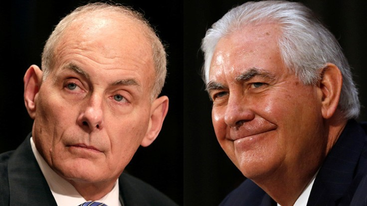 TILLERSON AND KELLY