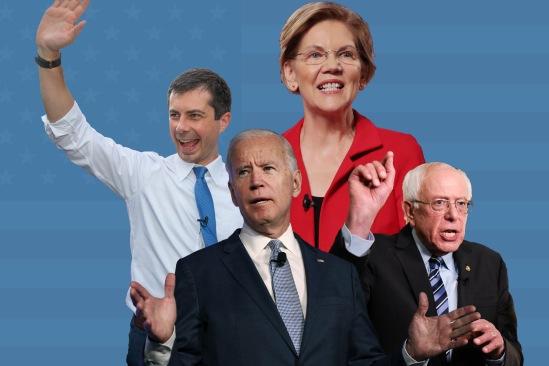 ALL WHITE DEMOCRAT CANDIDATES