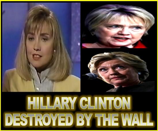 HILLARY HITS THE WALL
