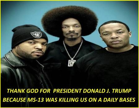 BLACK GANGS ARE THANKFUL