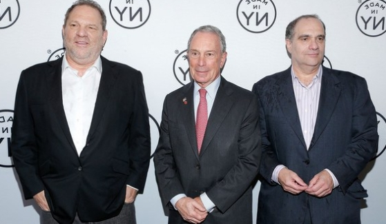 Michael+Bloomberg+Harvey+Weinstein
