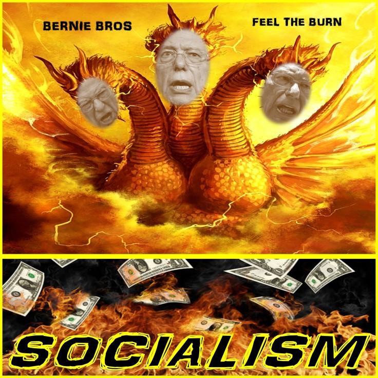 THE 3 HEADED SOCIALIST