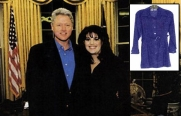 Bill-Clinton-Buys-Monica-Lewinsky's-Famous-'Stained-Dress'-In-Online-Auction