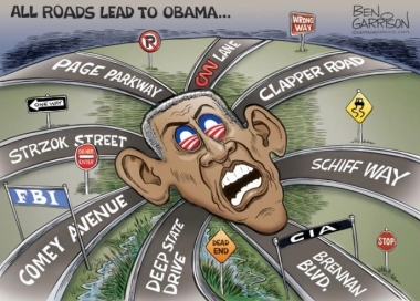 ALL ROADS LEAD TO OBAMAGATE