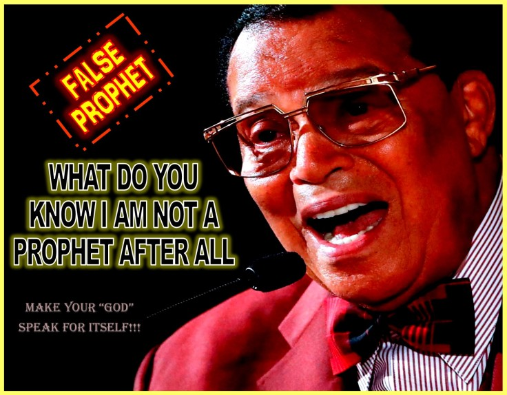FALSE PROPHET FARRAKHAN