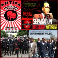 FARRAKHAN REPLACES THE F.O.I. WITH ANTIFA...