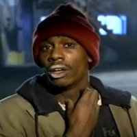 HEY DAVE CHAPPELLE, DON'T QUIT YOUR DAY JOB... YOU WILL ALWAYS BE TYRONE BIGGUMS... YOU BITCH!