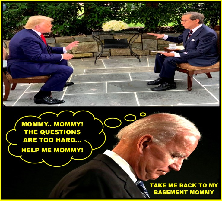 BIDEN CRIES FOR HIS MOMMY