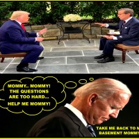 PRESIDENTIAL DEBATE: JOE BIDEN IS SCARED TO DEBATE... JOE BIDEN IS A F%CKING INEPT CHINA LOVING BITCHASS COWARD...