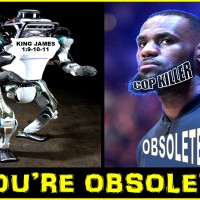 YOUR DAYS ARE NUMBERED LEBRON JAMES… bye.. bye COP KILLER...
