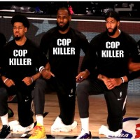 LEBRON JAMES AND HIS NBA BUDDIES ARE COP KILLERS...