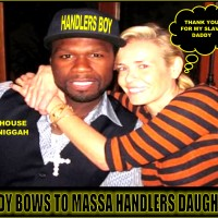 DAMN FIDDY (i.e. 50 CENT/Curtis James Jackson III) YOU BETTER PUT THAT BITCH CHELSEA HANDLER IN HER PLACE... GANGSTA STYLE!