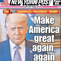 NEW YORK POST ENDORSES PRESIDENT DONALD J. TRUMP...
