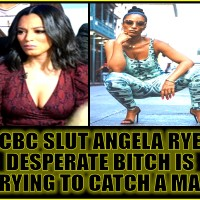 LOW IQ SLUT ANGELA RYE IS DEFENDED BY HER LOW IQ FANS…
